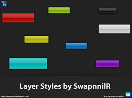 Web 2.0 Photoshop Layer Styles by SwapnnilR