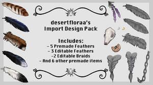 desertfloraa's FTU Import Design Pack