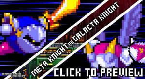 [Flash] Meta Knight vs Galacta Knight by AssassinKnight-47