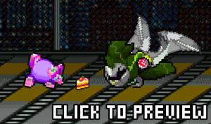 [Flash] Violet vs Wolfwrath Knight by AssassinKnight-47