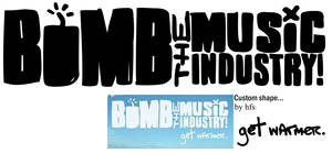 Bomb the Music Industry logo