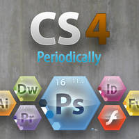 Periodically Creative Suite 4 by cavemanmac