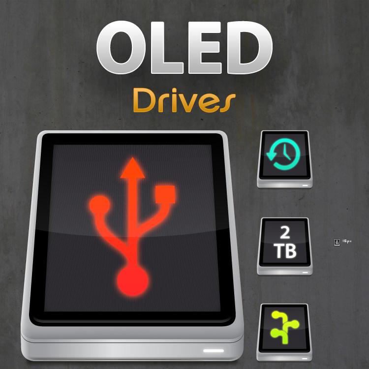 OLED Drives by cavemanmac