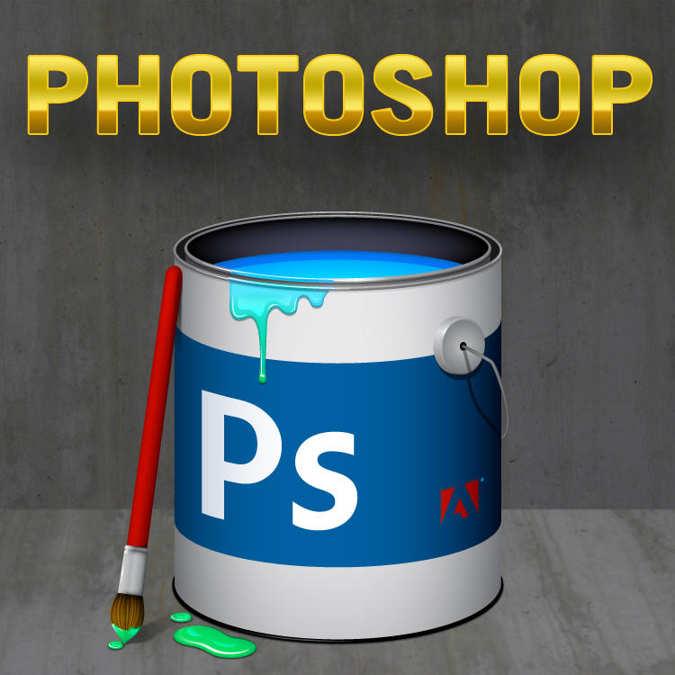 Photoshop Icon by cavemanmac