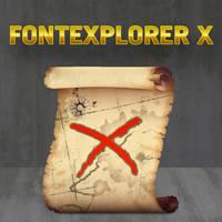 Font ExplorerX Icon
