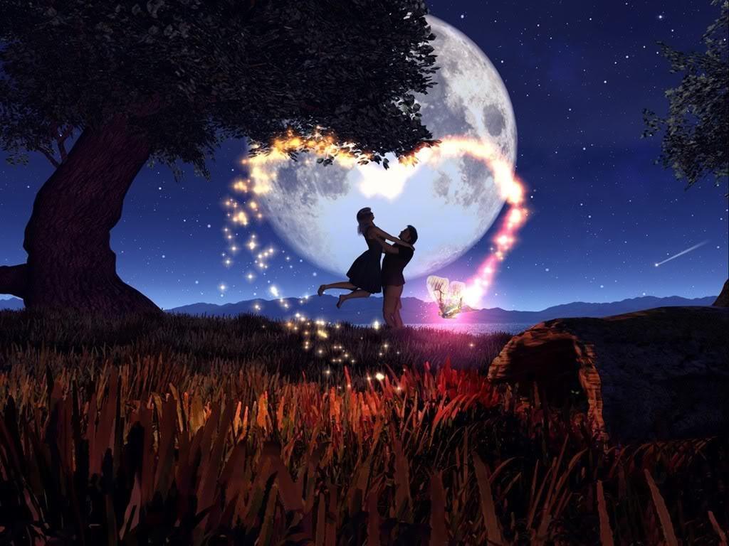 картинки романтические на ночь