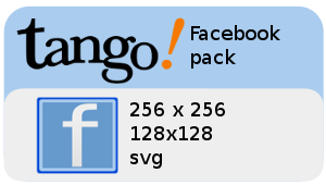 Facebook tango icon by Enrix835
