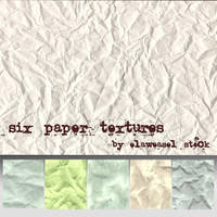 Paper Texture Pack 01 by Elaweasel