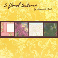 Floral Texture Pack 01 by Elaweasel