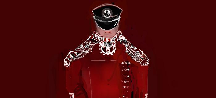 Captain Diego - Wolf Legion