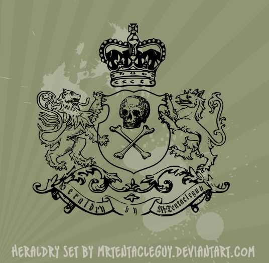 Heraldic Brushes svg by MrTentacleguy