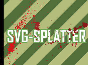 Splatter svg Brushes