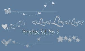 Brushes Set No 3 by Malia-Ferocious