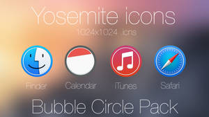 Bubble Circle Pack Icon