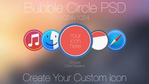 Bubble Cirlce PSD