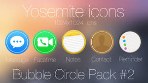 Bubble Circle Icon pack #2