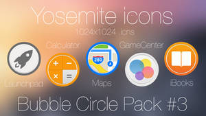 Bubble Circle icon Pack 3