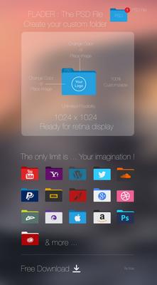 Flader : PSD file