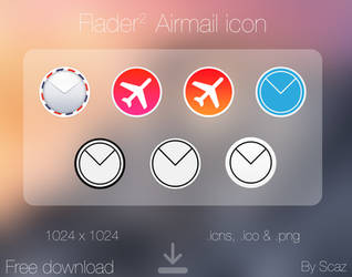 Flader : Airmail icon app