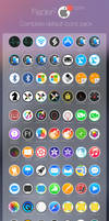 Flader : 82 default icons for Apple app Mac os X