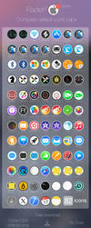 Flader : 82 default icons for Apple app Mac os X by scafer31000