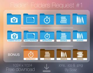 Flader : folders request #1