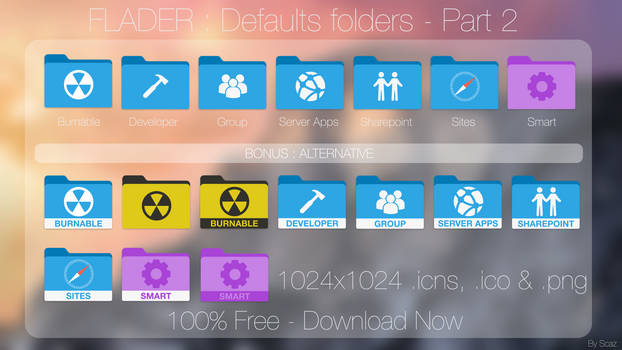 Flader : defaults folders Part 2 [Request]