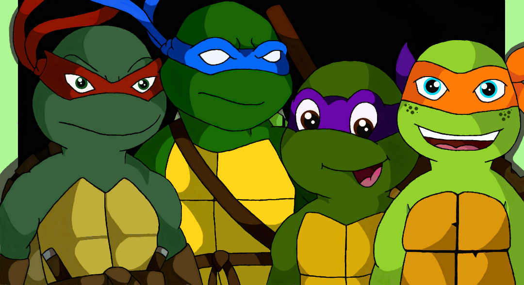 TMNT generations by DonatelloHawkx