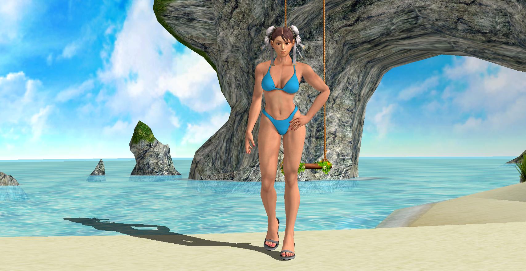 Chun Li Bikini by Kripas4