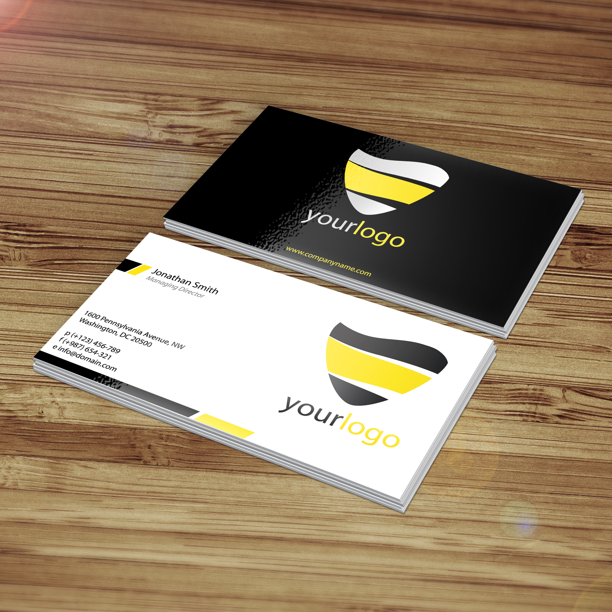 Business Card Mockup by SectorTech on DeviantArt