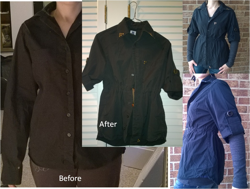 Men's Button Up Upcycle by SouredLullaby
