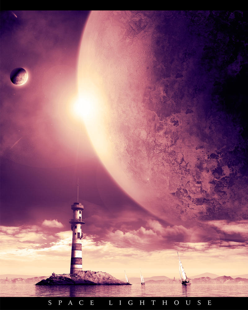 Space lighthouse tutorial by fishbot1337 on deviantart for Space art tutorial