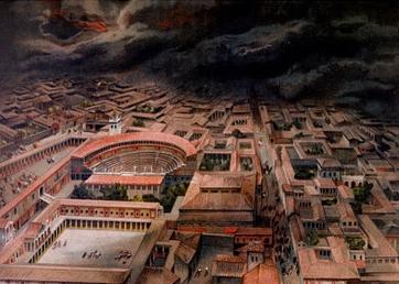 THE DESTRUCTION OF POMPEII AND HERCULANEUM by senador