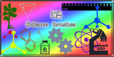Science brushes by AnastasieLys