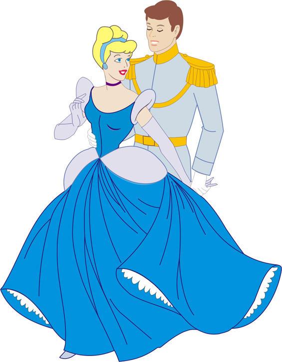 Cinderella and Prince Charming by AnastasieLys