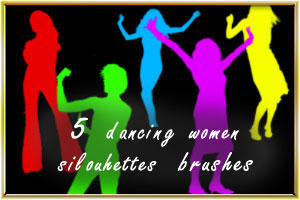 Dancing women by AnastasieLys
