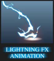 Lightning FX Animation by AlexRedfish