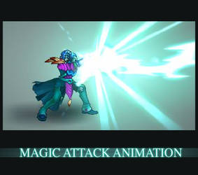 Magic Attack Animation by AlexRedfish