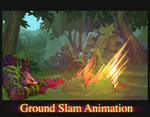 Wolf Ground Slam Animation