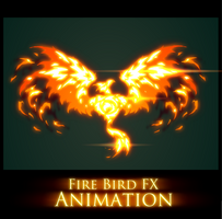 Fire Bird FX Animation by AlexRedfish