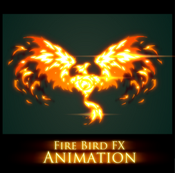 Fire Bird FX Animation