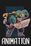 TMNT Michelangelo Animation