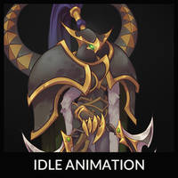 Maiev Idle Animation