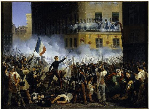 painterly pleasant french revolution - 800×576