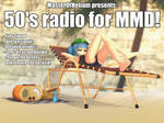 [MMD accessory download] 50's radio