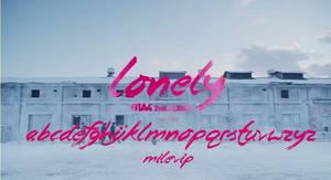 FONT B1A4-LONEY