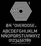 Exo Overdose Font