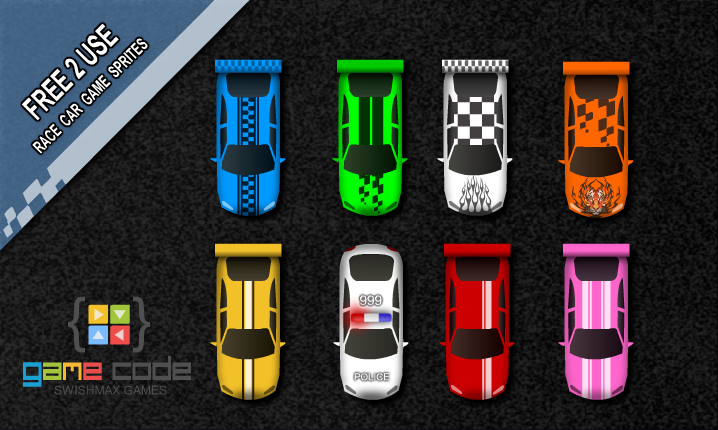 Racing Car Sprites By Craig Lowe On Deviantart
