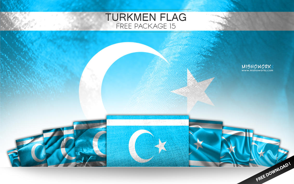 | Iraqi Turkmeneli Flag Package | {15} by mishoworks