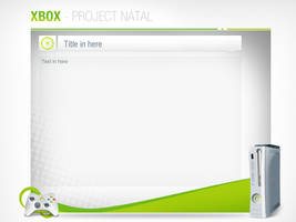 Xbox Project Natal - PSD by devzign